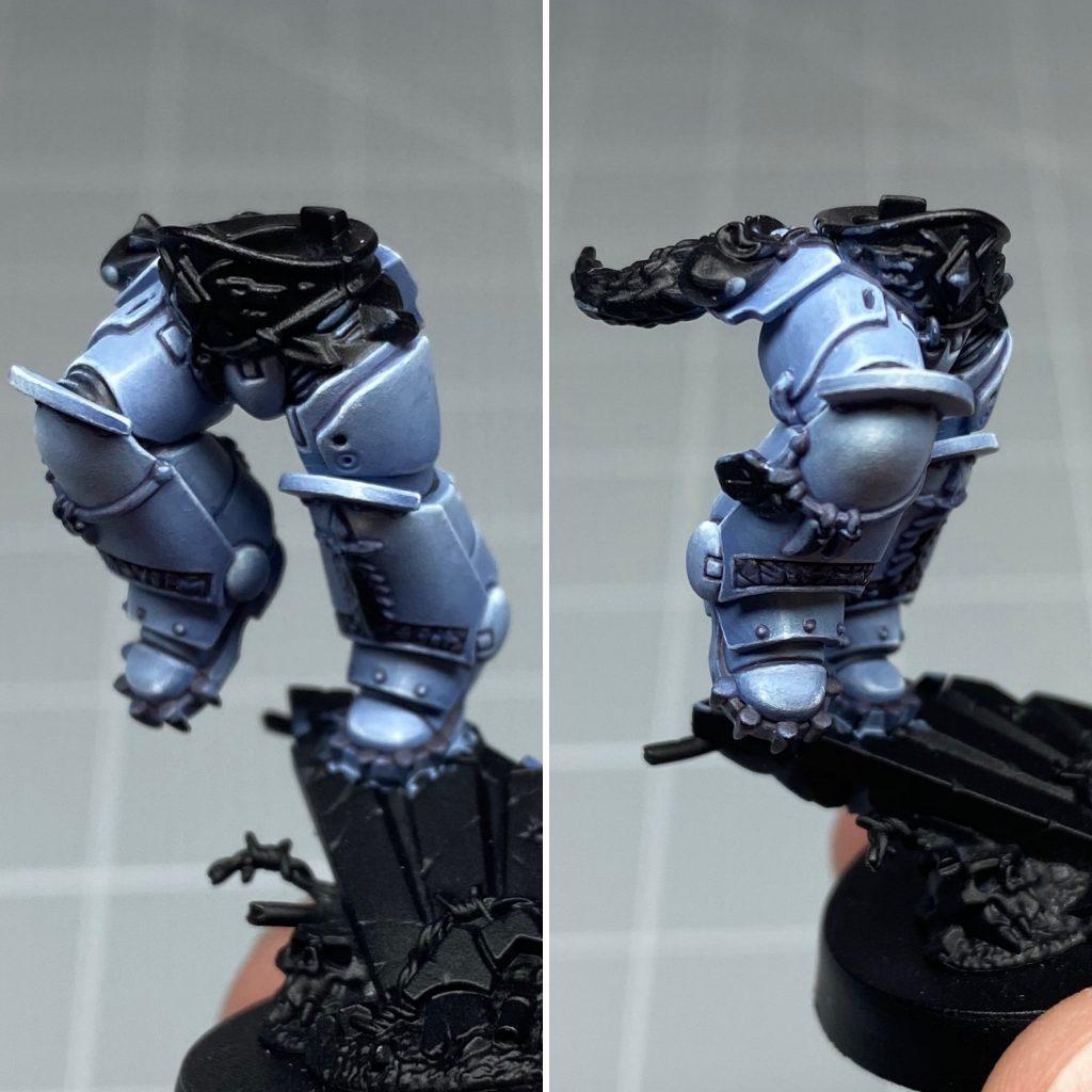 Painting Ragnar Blackmane's Spacewolves Armour