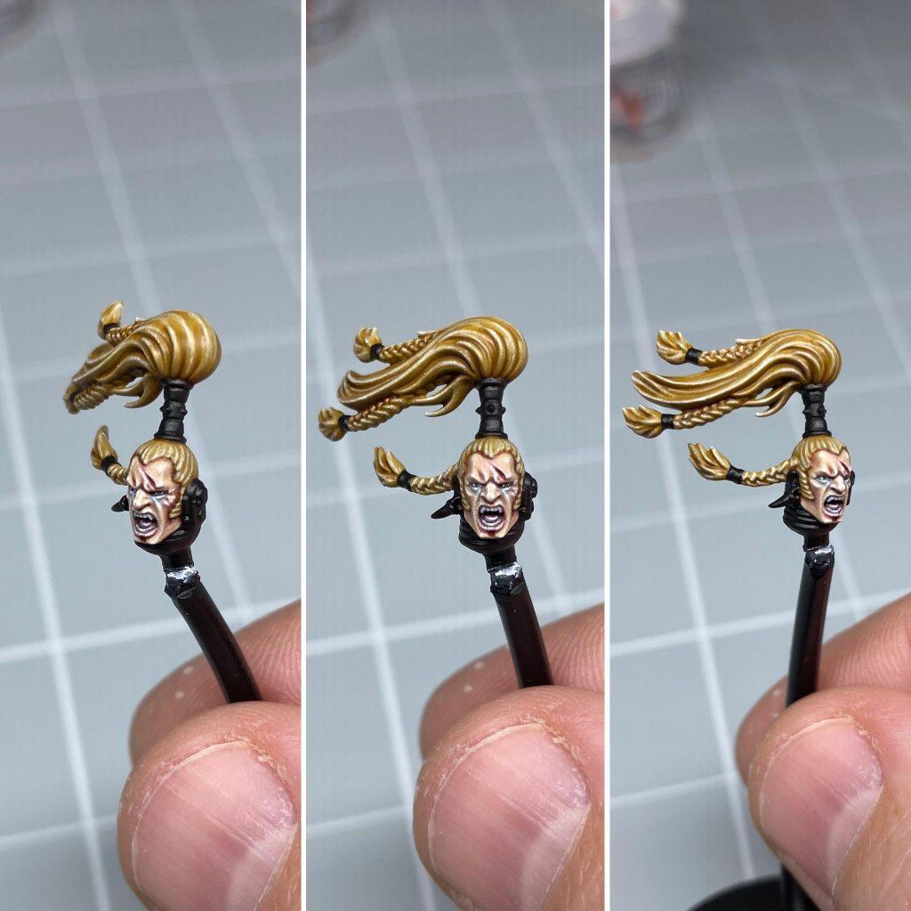 Painting Ragnar Blackmane's Hair