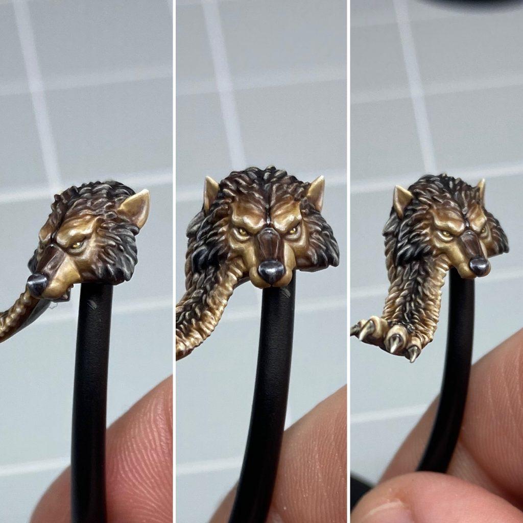 Painting Ragnar Blackmane's Fur Pelt Reference Image