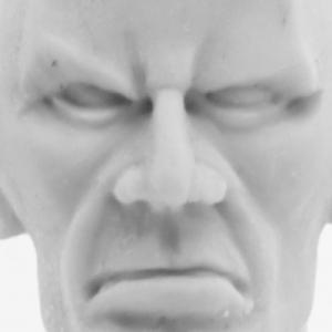 Male Head Practice Sculpt 1