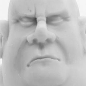 Male Head Practice Sculpt 2
